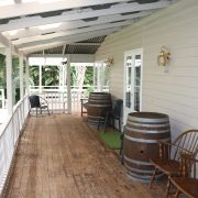 Mapleton Falls House - Front Deck